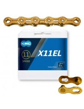 Łańcuch KMC X11EL gold 118...